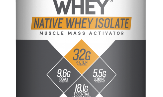 whey isolate, native whey, designer protein, protein powder and designer whey